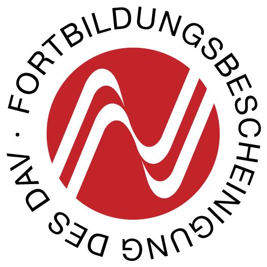 Fortbildungsbescheinigung Deutscher Anwaltsverein